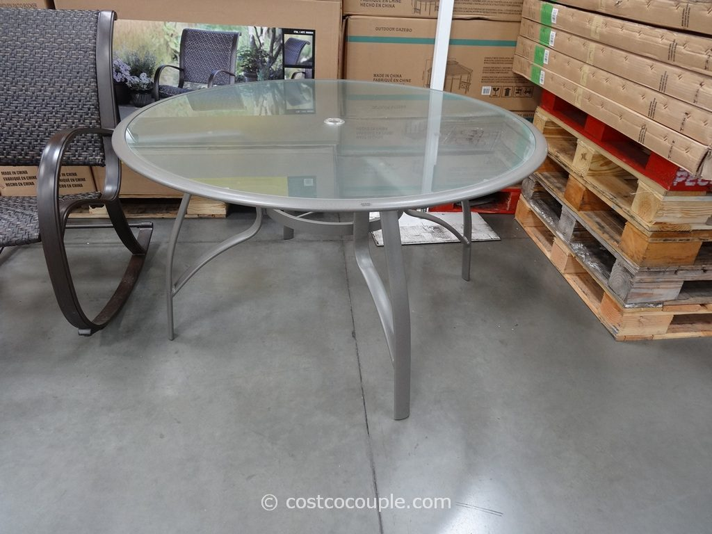 Furniture Kirkland Signature 50 Inch Costco Patio Furniture Table