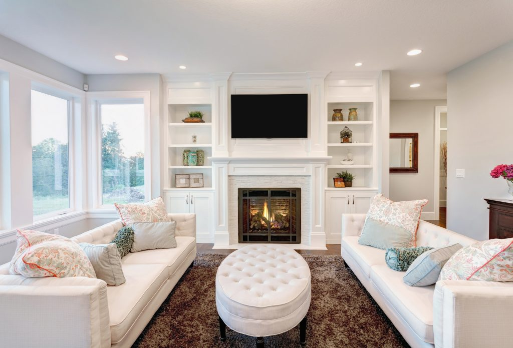 Furniture Placement Ideas Living Room Fireplace Tv Beside Family