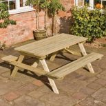 Garden Table And Benches Set Table Setting Design