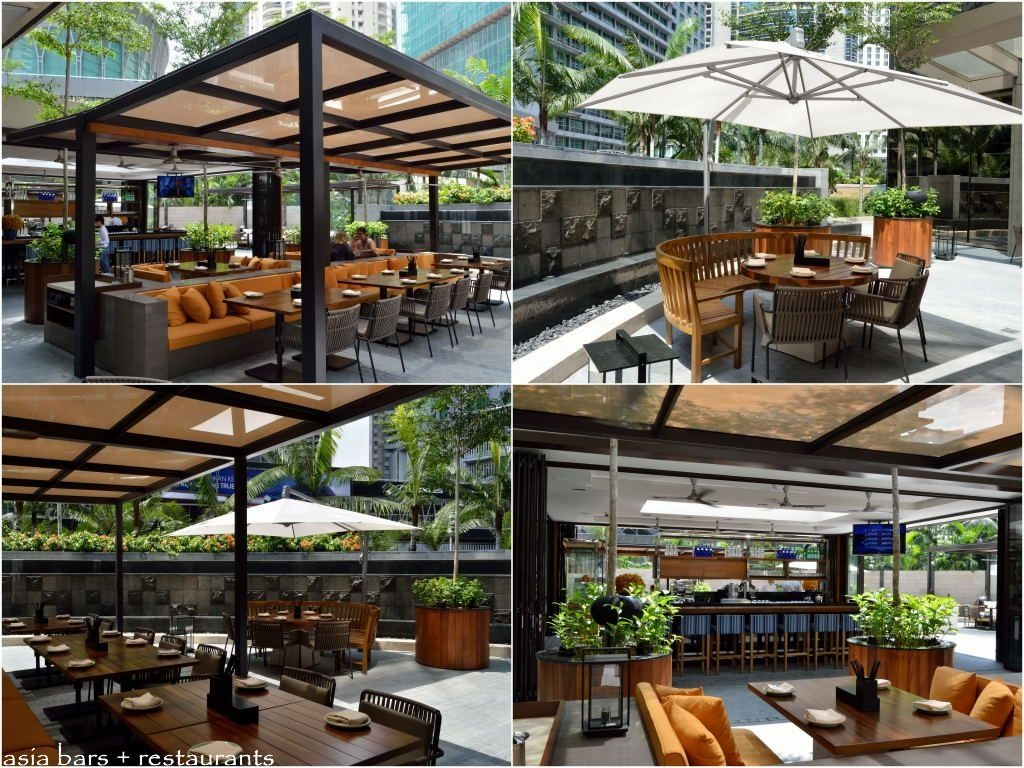 Gardens Restaurant And Terrace Cafe Makeovers Outdoor Design