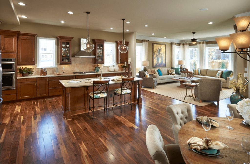 Gleaming Wood Flooring Ties The Space Together 6 Great Reasons To