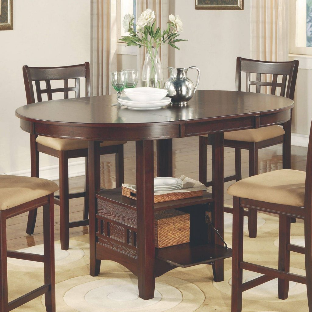 Gorgeous Inspiration Tall Dining Room Sets Furniture Counter Height