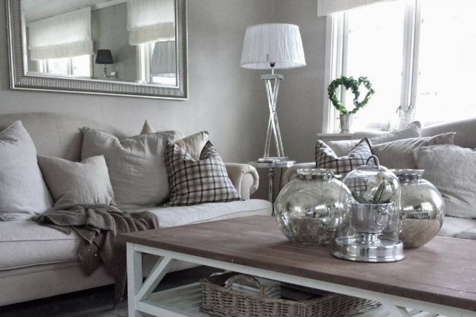 Living Room Ideas Cream And Grey Layjao