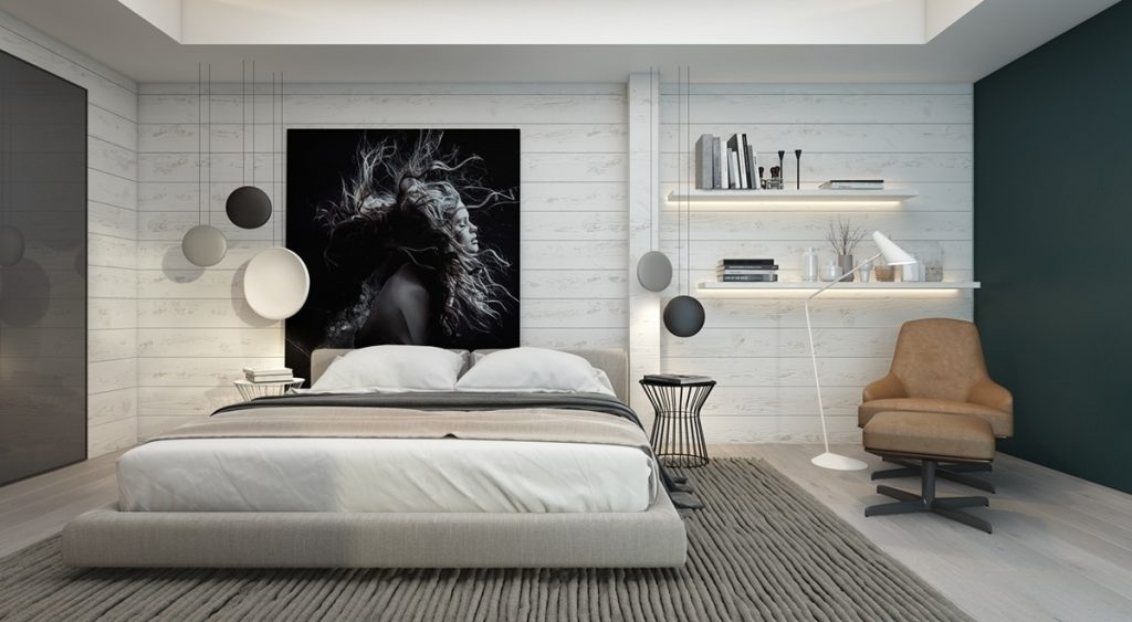 Great Accent Wall Ideas Bedroom Decorative Accent Wall Ideas