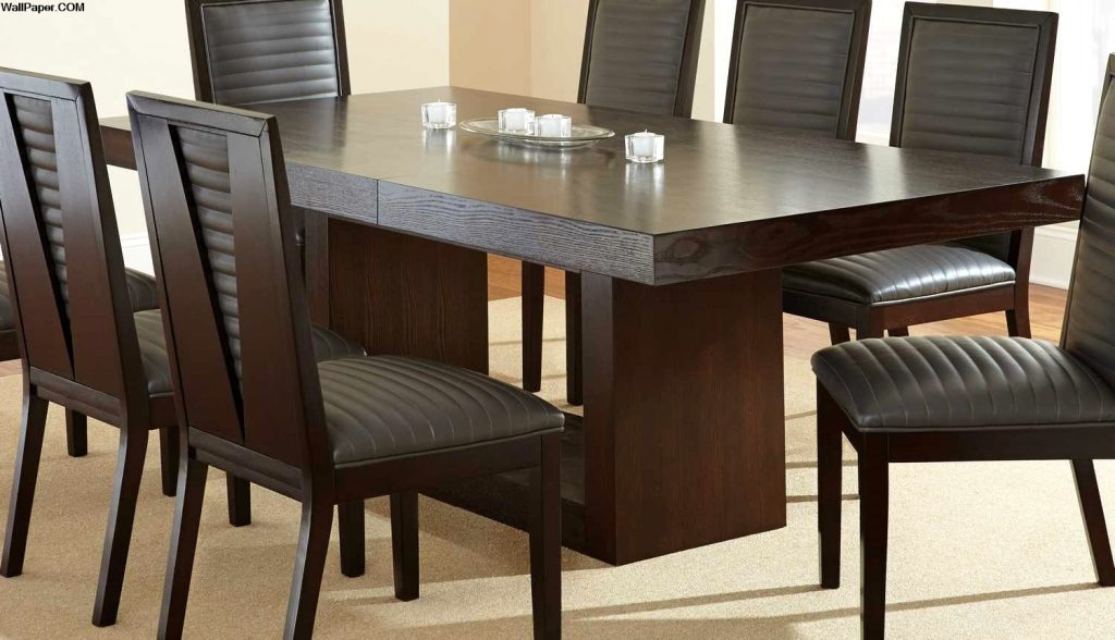 Great Dining Table Set With Leaf
