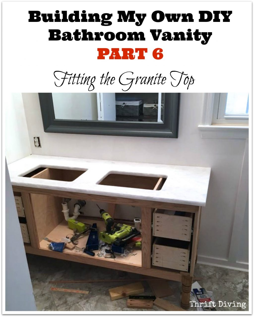 Great Diy Bathroom Vanity 4 Photos Htsrec
