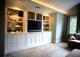 Bedroom Entertainment Center