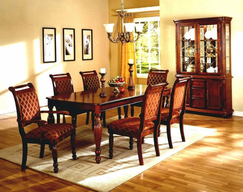 Havertys Furniture Dining Room Set Chairs Dinner Table 5 Piece Home