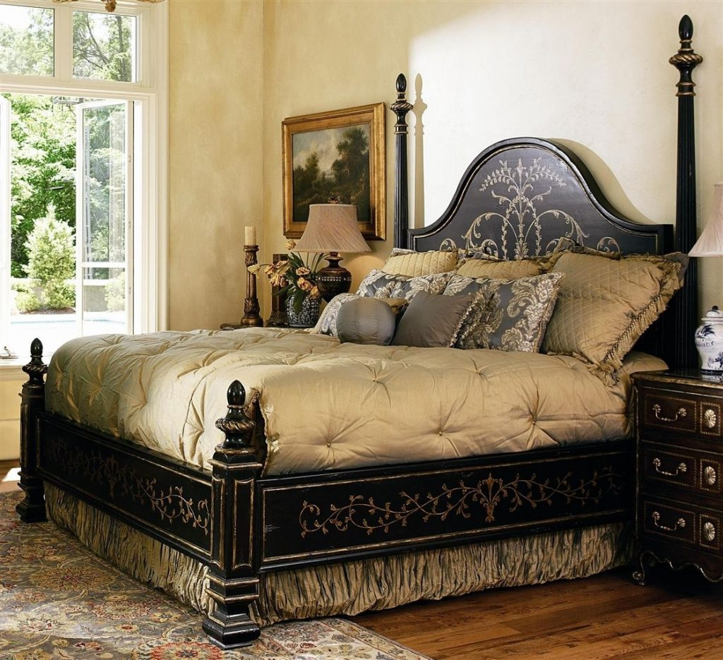 High End Master Bedroom Set Manor Home Collection Live Like A King