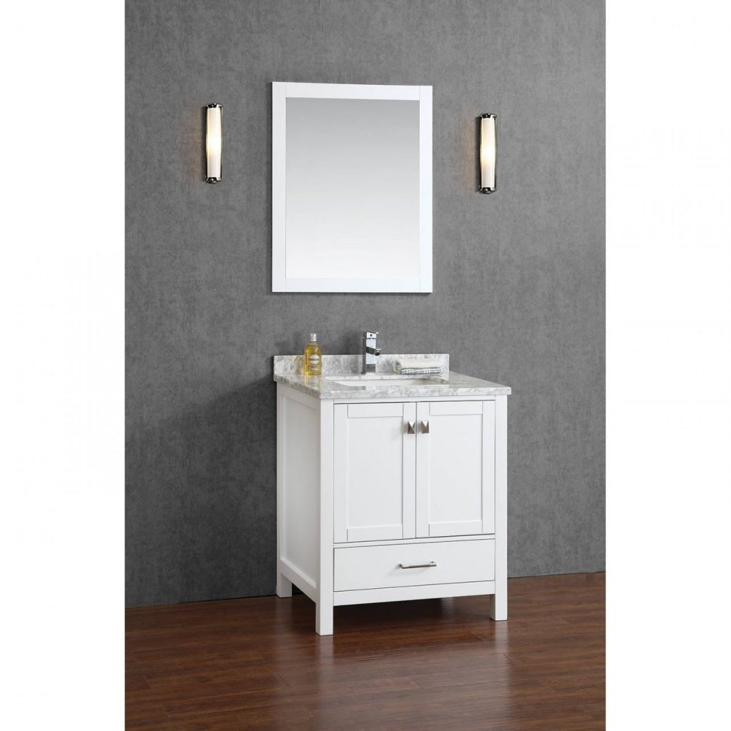 Home Decor Appealing Solid Wood Bathroom Vanities Combine With With