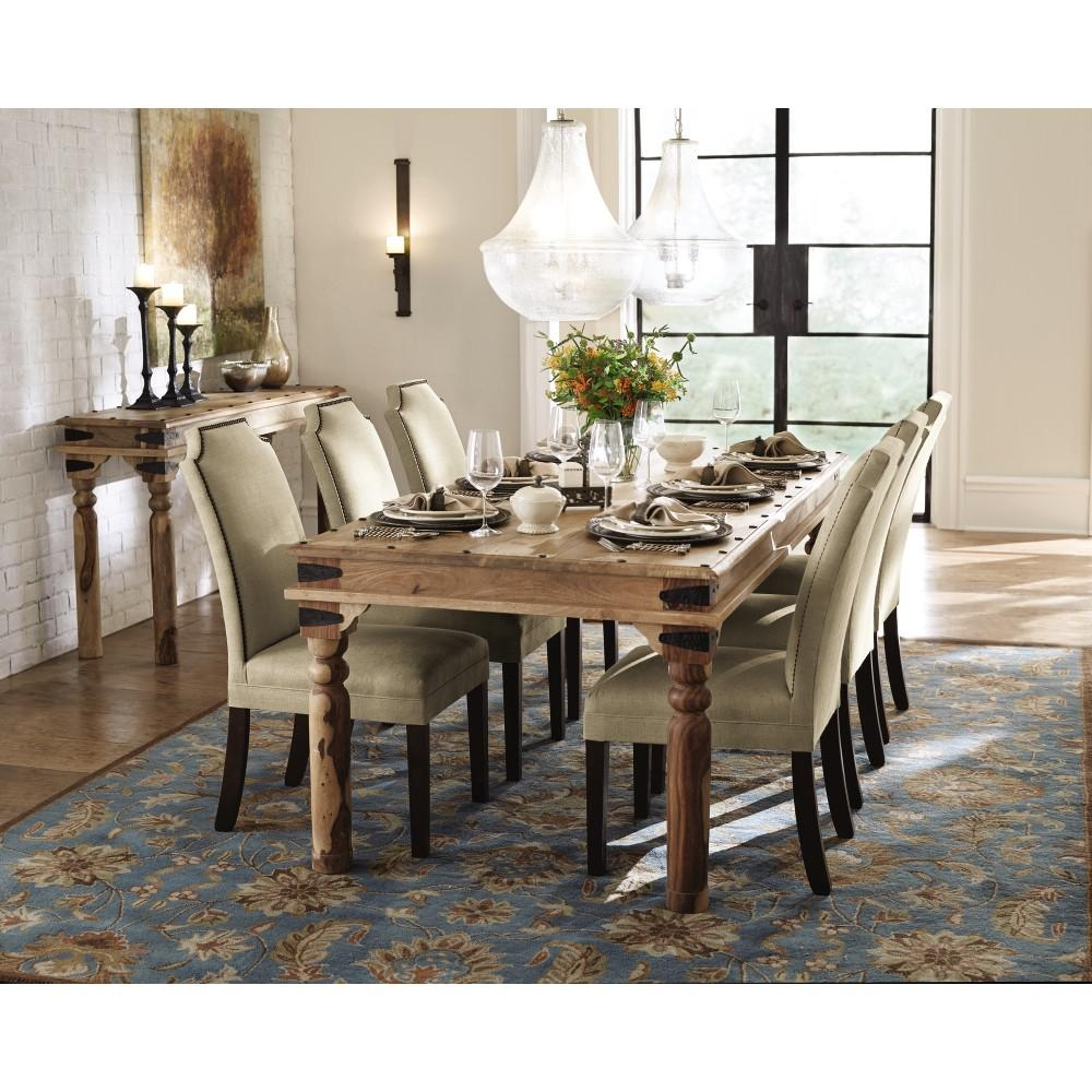 Home Decorators Collection Edmund Distressed Walnut Dining Table