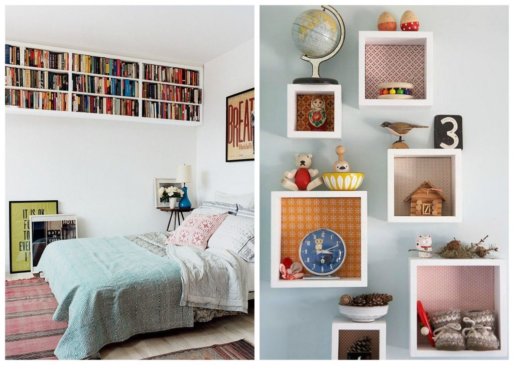 Home Hacks 19 Tips To Organize Your Bedroom Wall Spaces