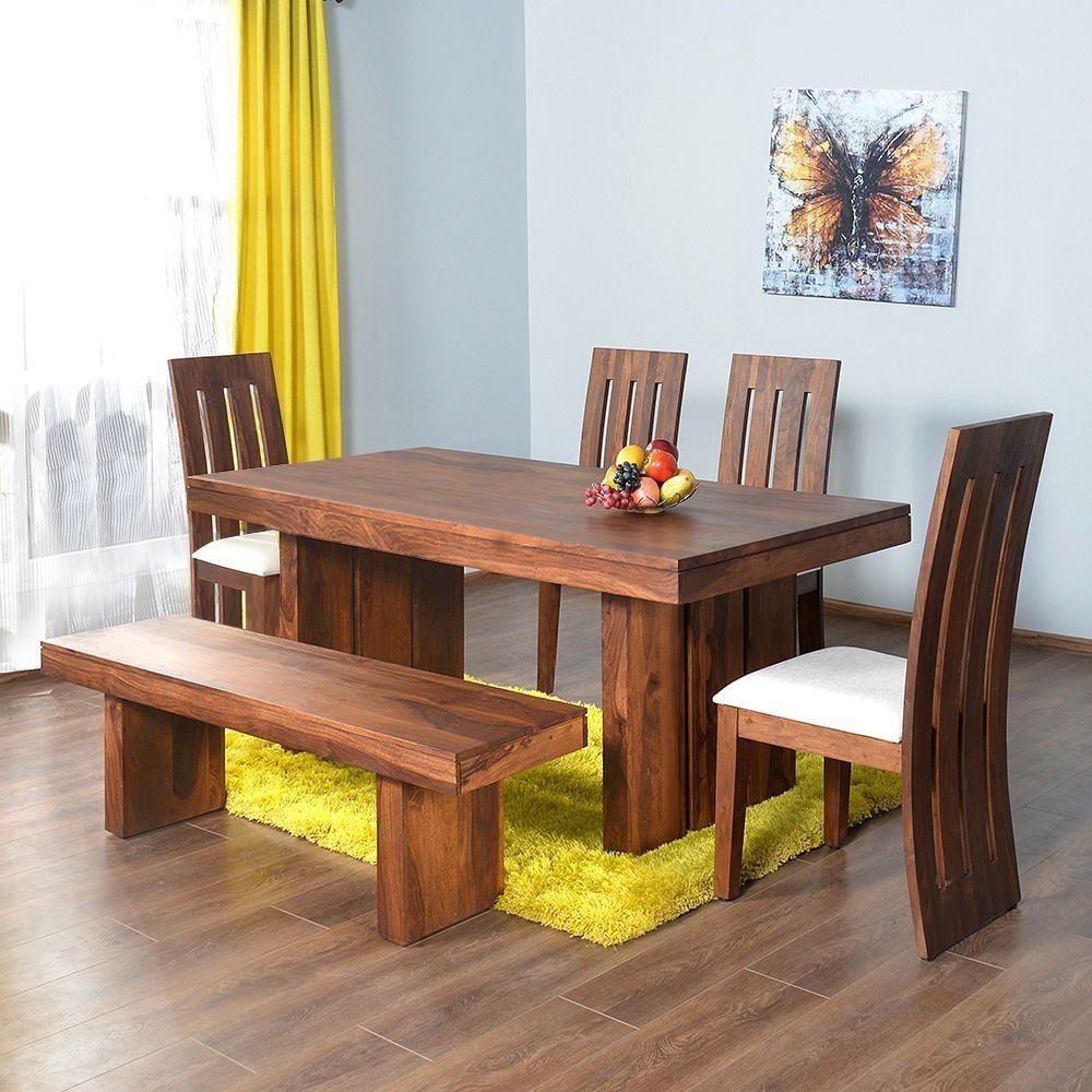 Home Nilkamal Delmonte Six Seater Dining Table Set Brown Best