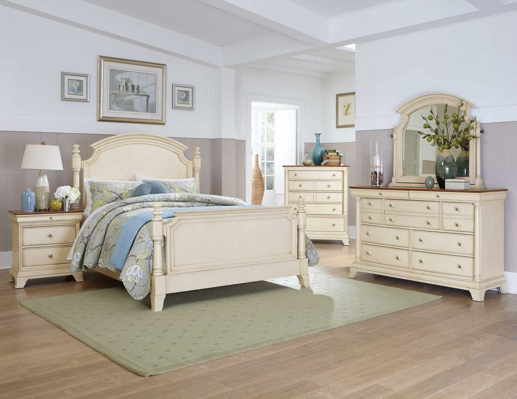 Homelegance Inglewood Ii Bedroom Set White B1402w Bed Set