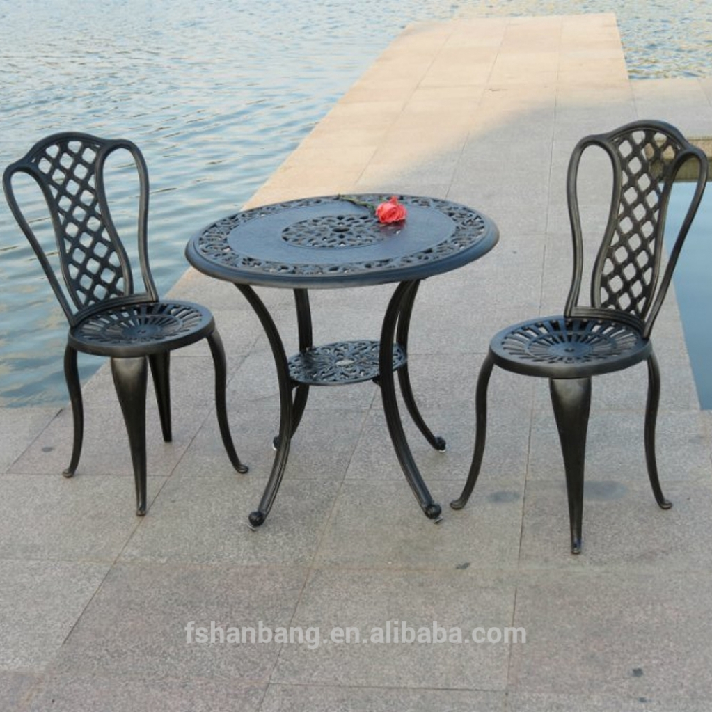 Hotsale Heavy Duty All Weather Garden Furniture Made Of Cast For