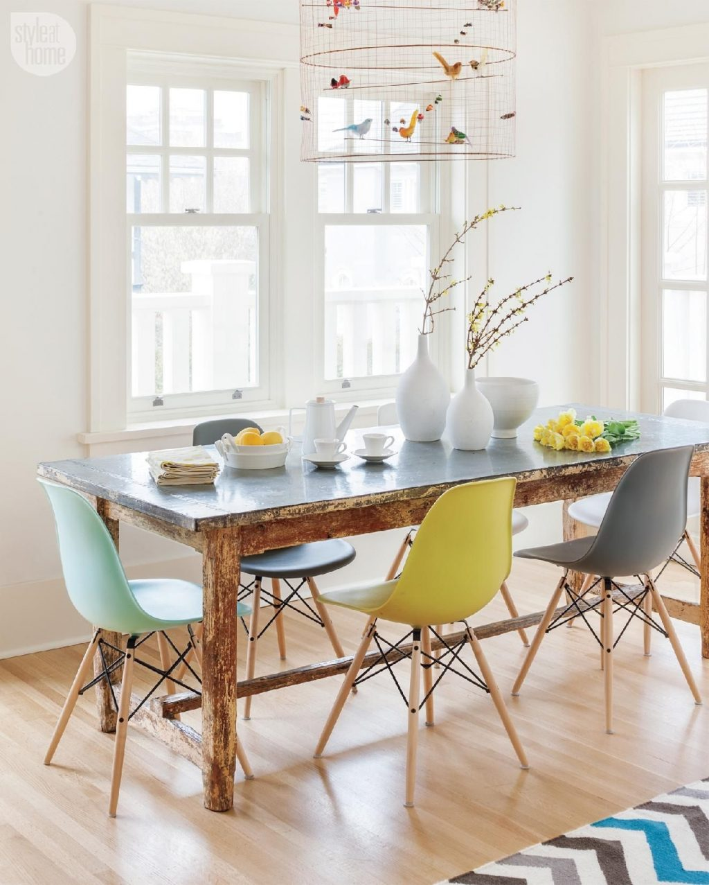 House Tour Modern Eclectic Family Home Pinterest House Tours