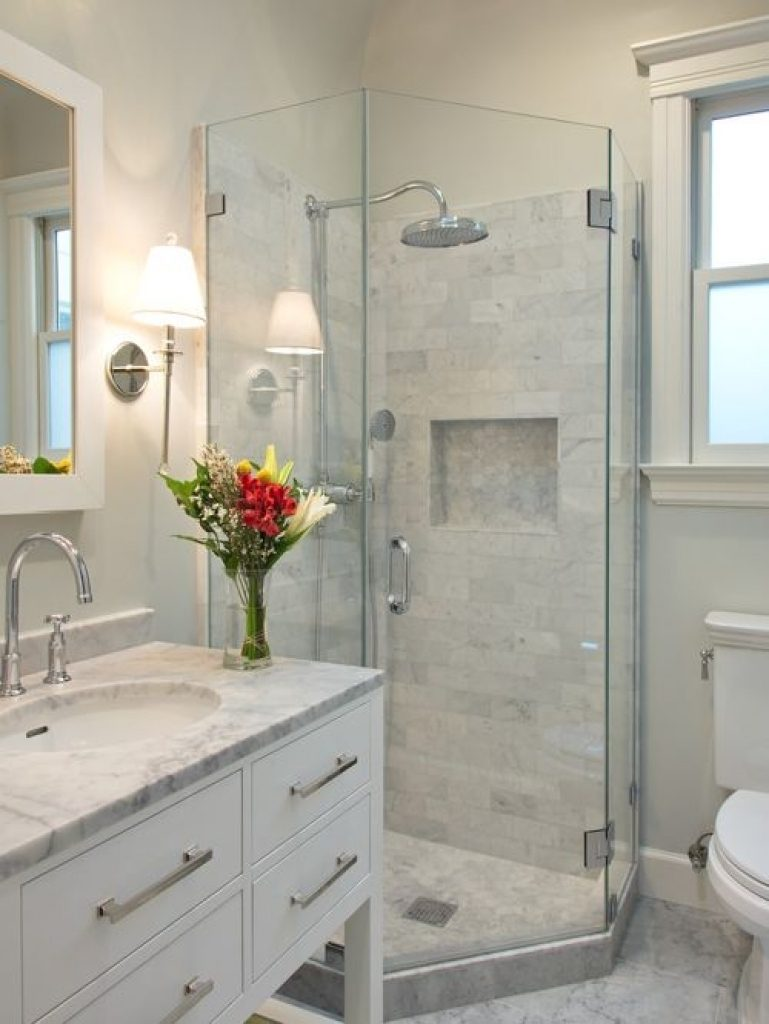 Houzz 50 Best Small Bathroom Pictures Small Bathroom Design