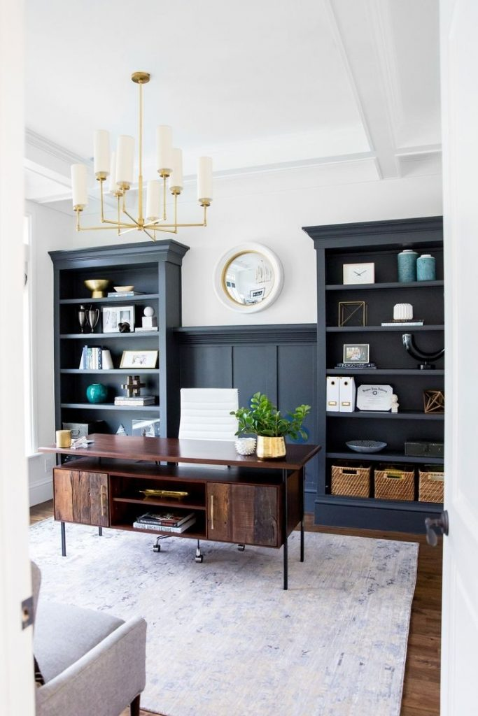 How To Create An Office Space In Your Living Room Apartments Com For