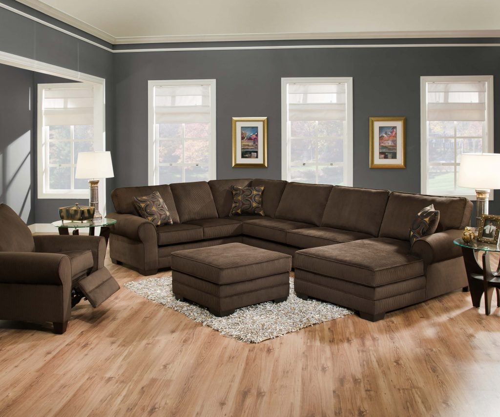 How To Decorate A Brown Living Room Decorating Ideas With Dark