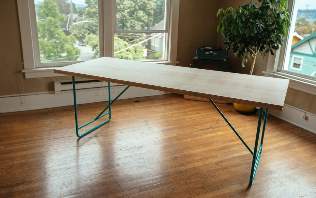 How To Make A Diy Mid Century Modern Dining Room Table Youtube