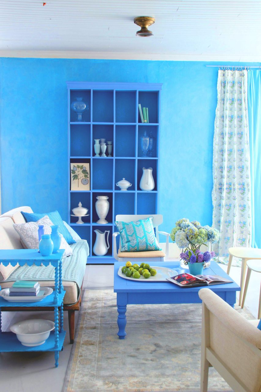 How To Paint A Room Blue Finish Diy Painting Wagner Spraytech
