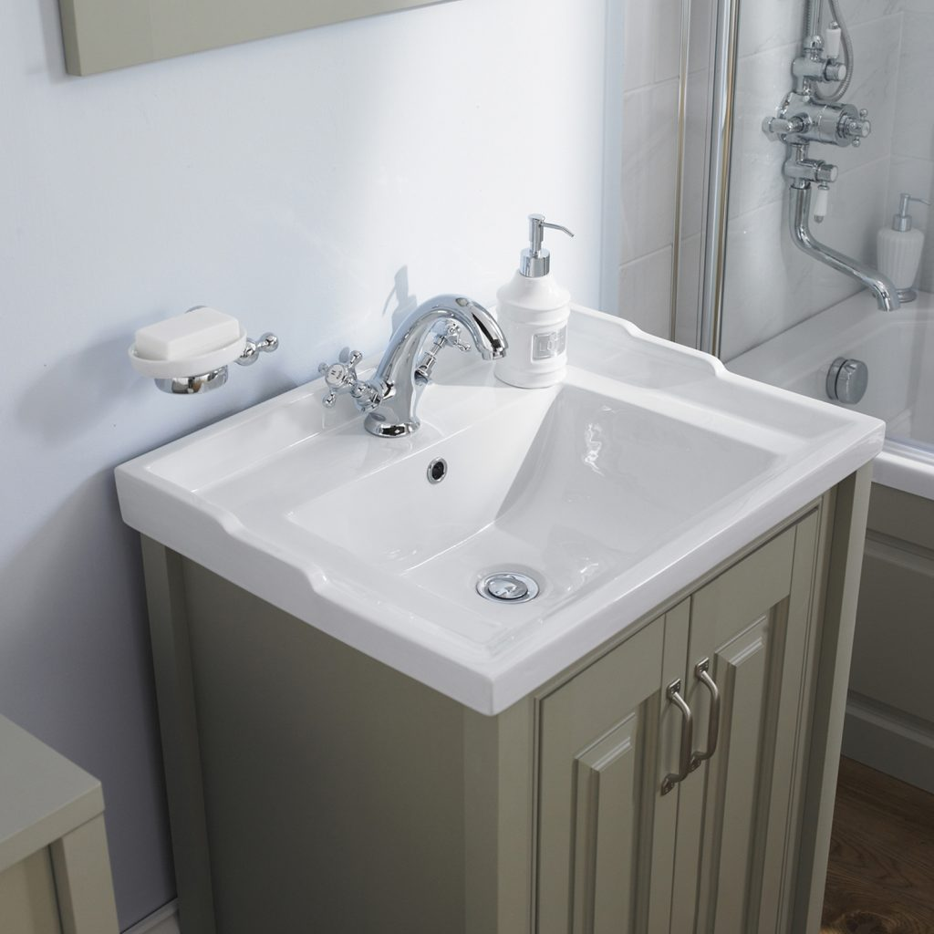 Hudson Reed Traditional Vanity Unit 590mm Floor Mounted Ldf403