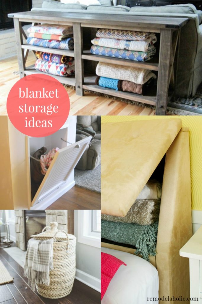 I Need These In My Living Room Blanket Storage Ideas To Keep T