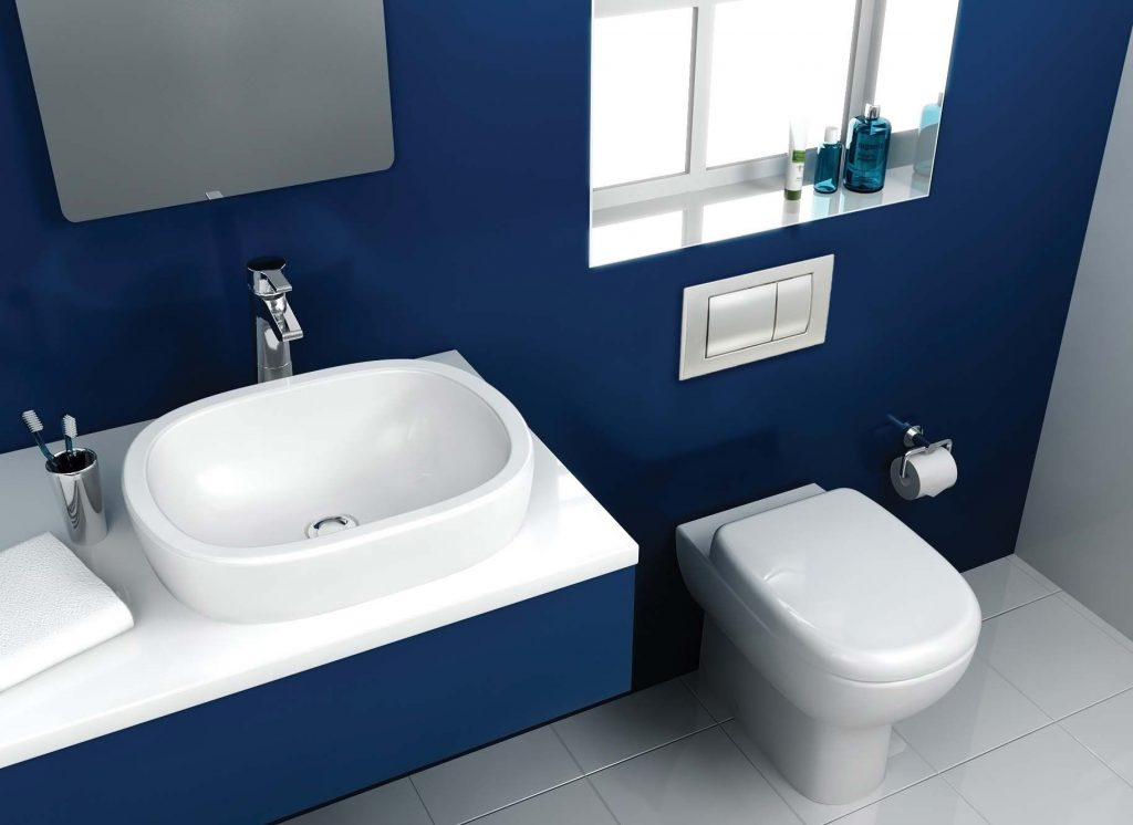 Image Result For Blue Bathroom Ideas For The Home Pinterest