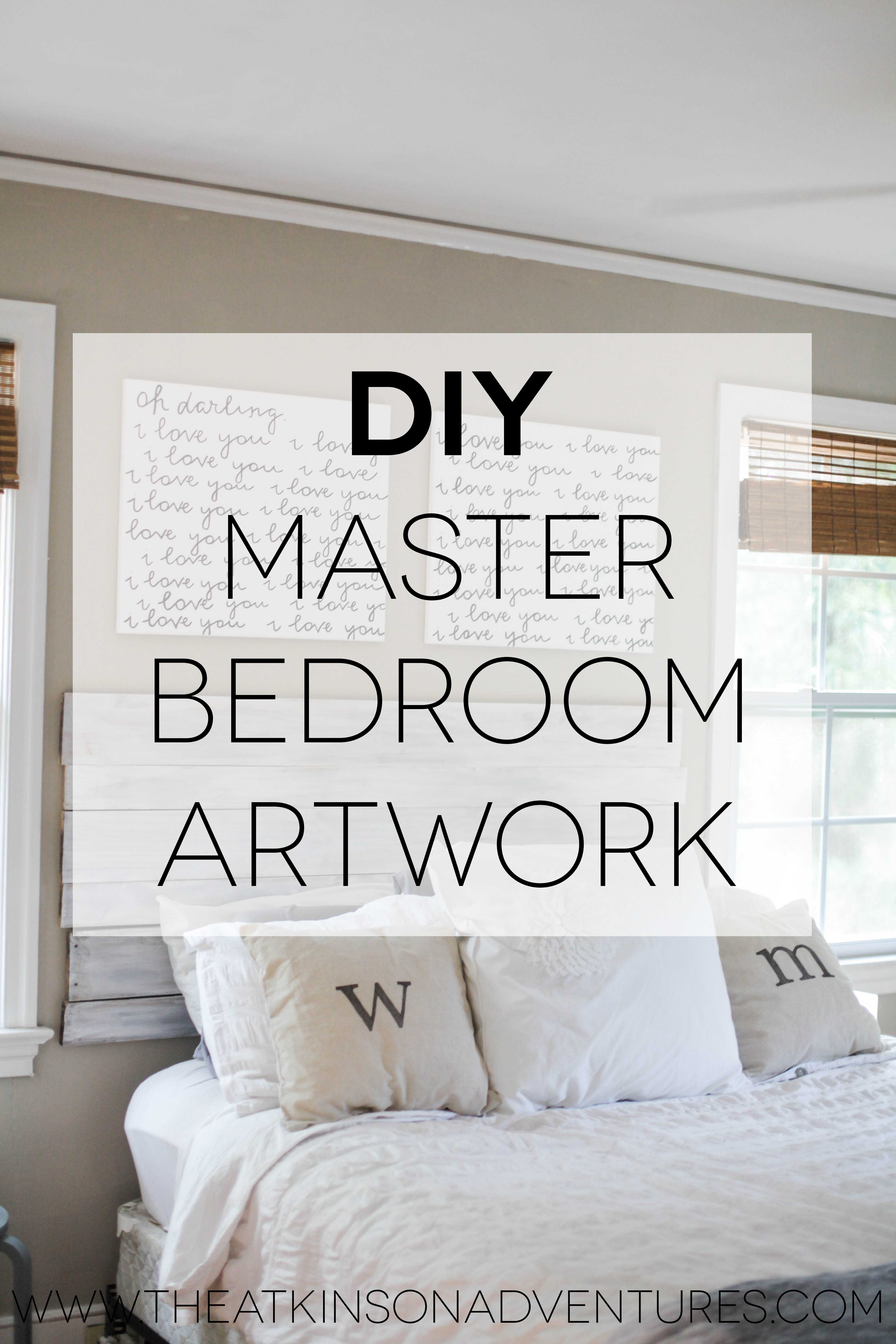 Improved Wall Art Ideas For Master Bedroom Images And Beautiful
