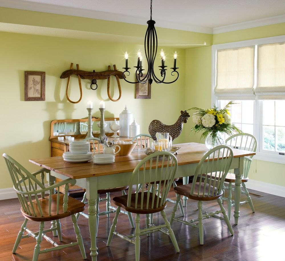 Incredible Dining Room Before And After Modern Country Style Picture