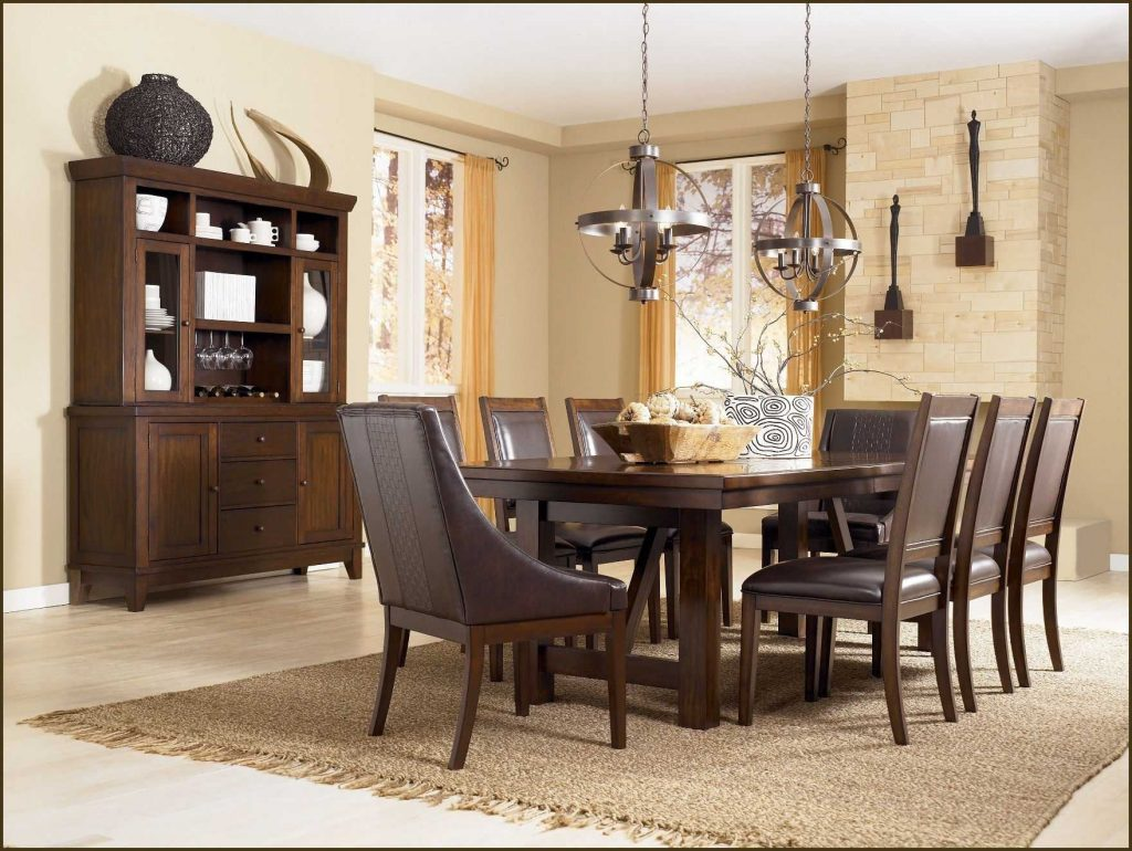 Incredible Formal Dining Room Sets For 8 Also Window Treatments