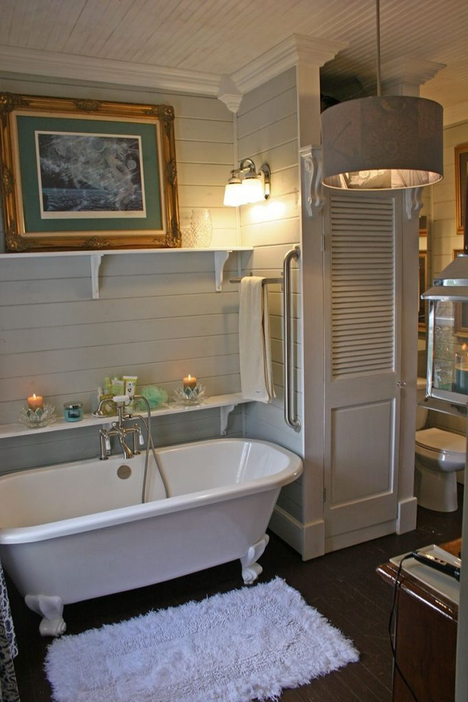 Incredible Here Is The Tub Area Clawfoot Remodel Bathroom Image Of