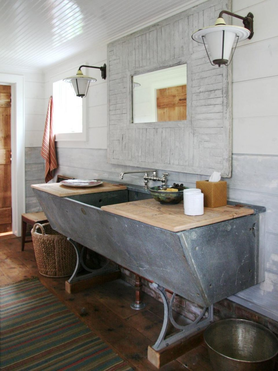 Industrial Style Bathroom Vanity Hot Home Decor Modern And