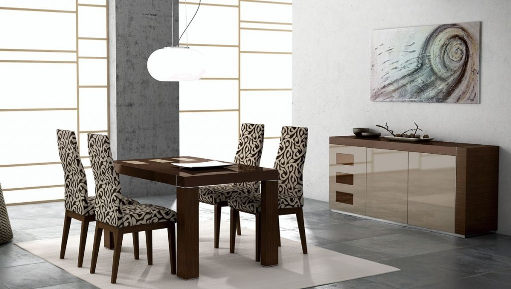 Irene Modern 5pc Lacquered Dining Room Set New Jersey 189900