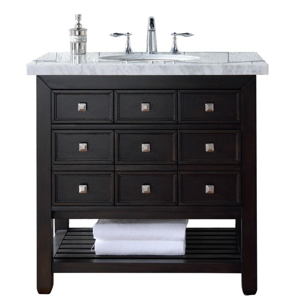 James Martin Signature Vanities Vancouver 36 In W Single Vanity In