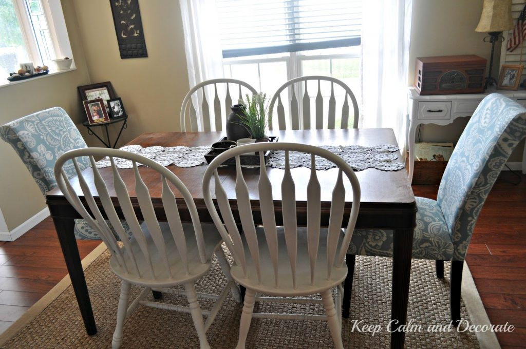 Keep Calm And Decorate Updating Dining Room Chairs