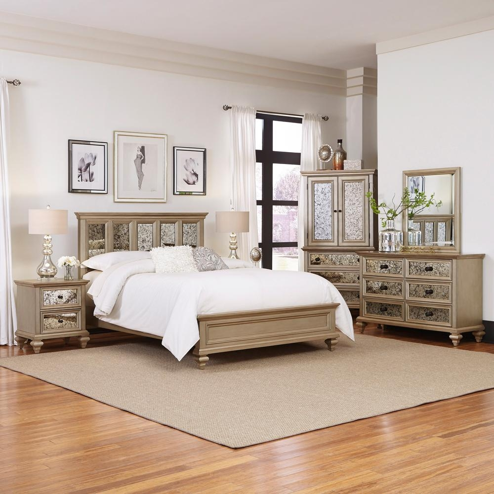 King Bedroom Sets Bedroom Furniture The Home Depot