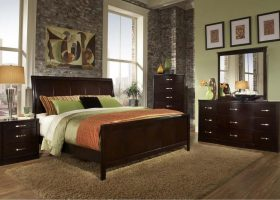 Bedroom Sets Dark Wood