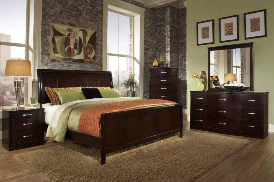 King Bedroom Sets Dark Wood New Decoration Small Master Home