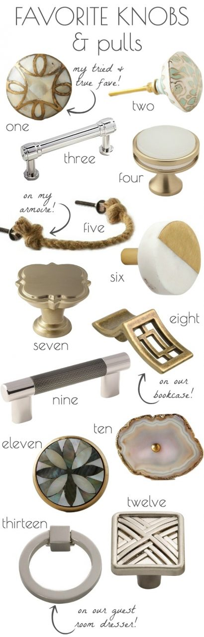 Kitchen And Bathroom Cabinet Knobs Pulls My 13 Faves Driven