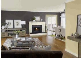Living Room Kitchen Color Ideas