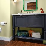 Kraftmaids Console Vanity For The Bathroom Looks Like Furniture And