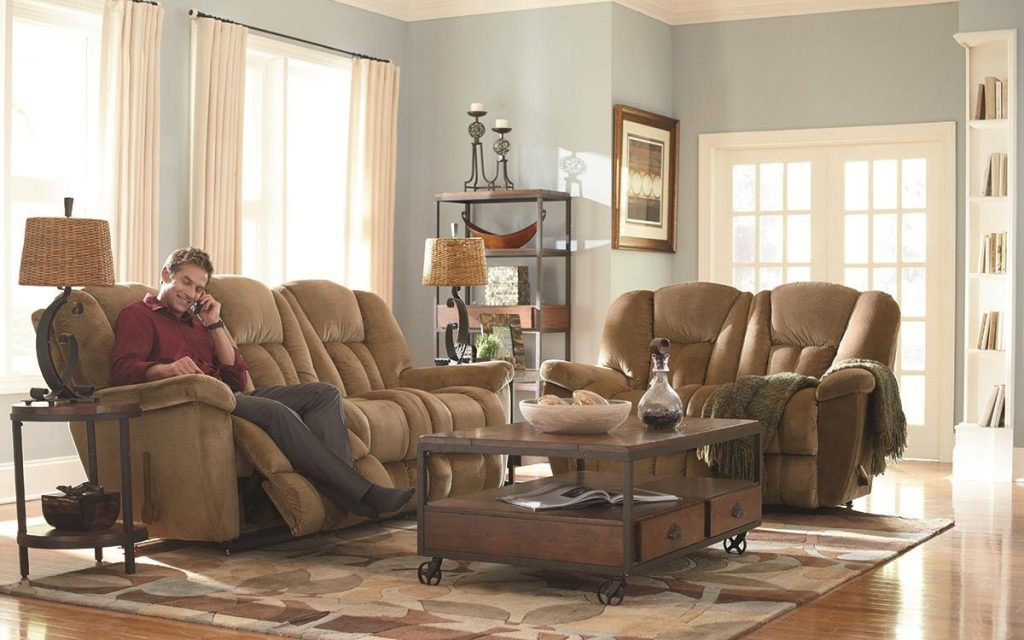 La Z Boy Maverick Reclina Rocker Recliner Boulevard Home