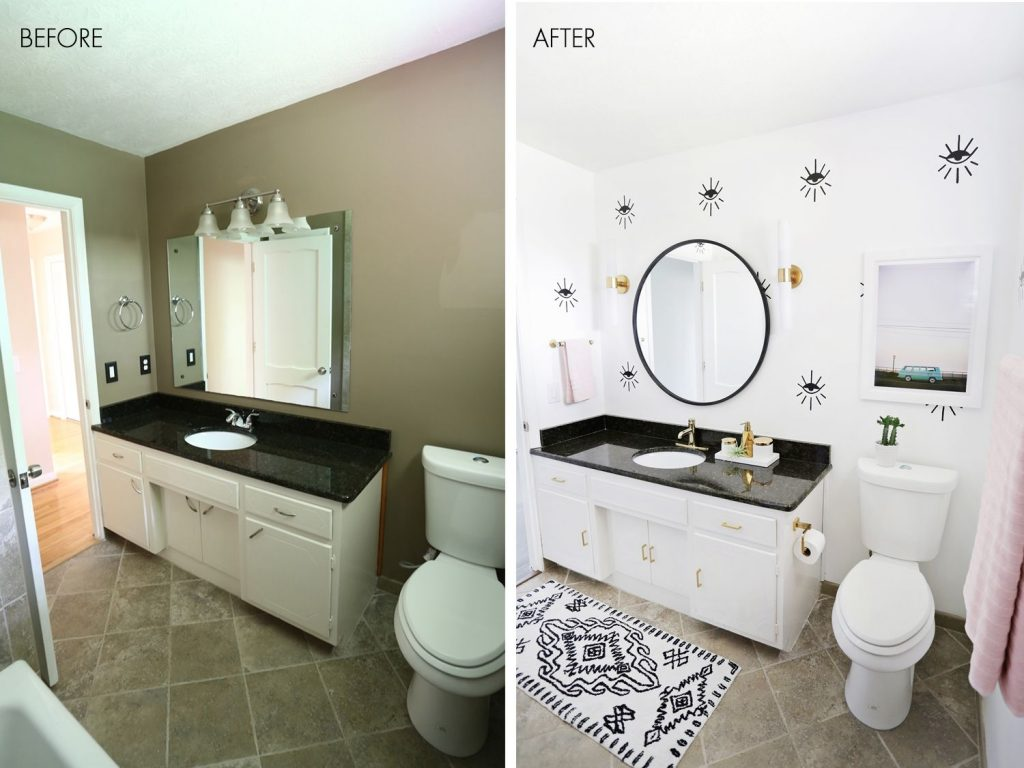 Lauras Guest Bathroom Before After Bathroom Makeovers