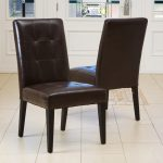 Dining Room Chairs Brown Leather