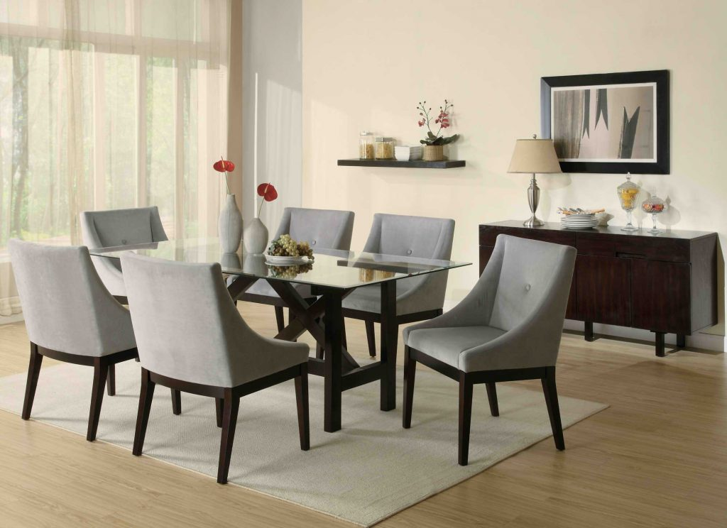 Leather Dining Room Chairs Elegant Chic Comfortable Chair Compact