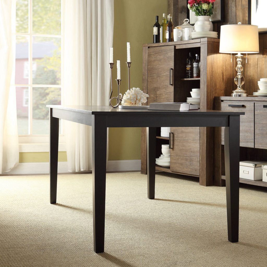 Lexington Large Dining Table Black Walmart