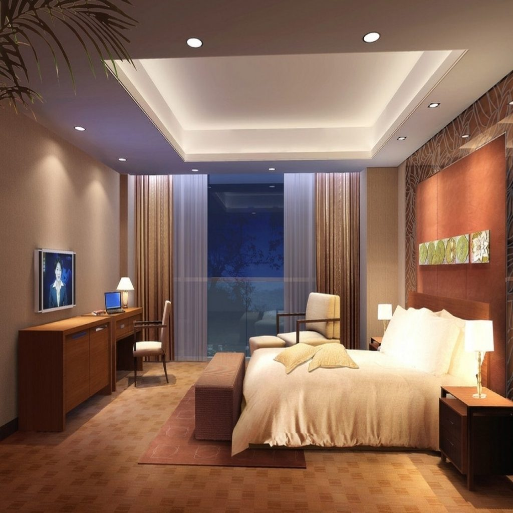 Light Led Bedroom Ceiling Lights Less Collection With Decoration