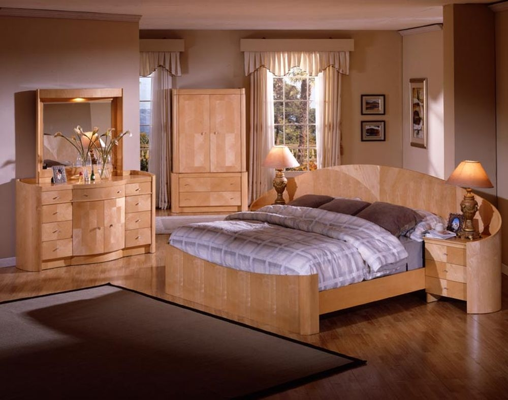 Light Wood Bedroom Furniture Sets Eo Furniture Full Bedroom