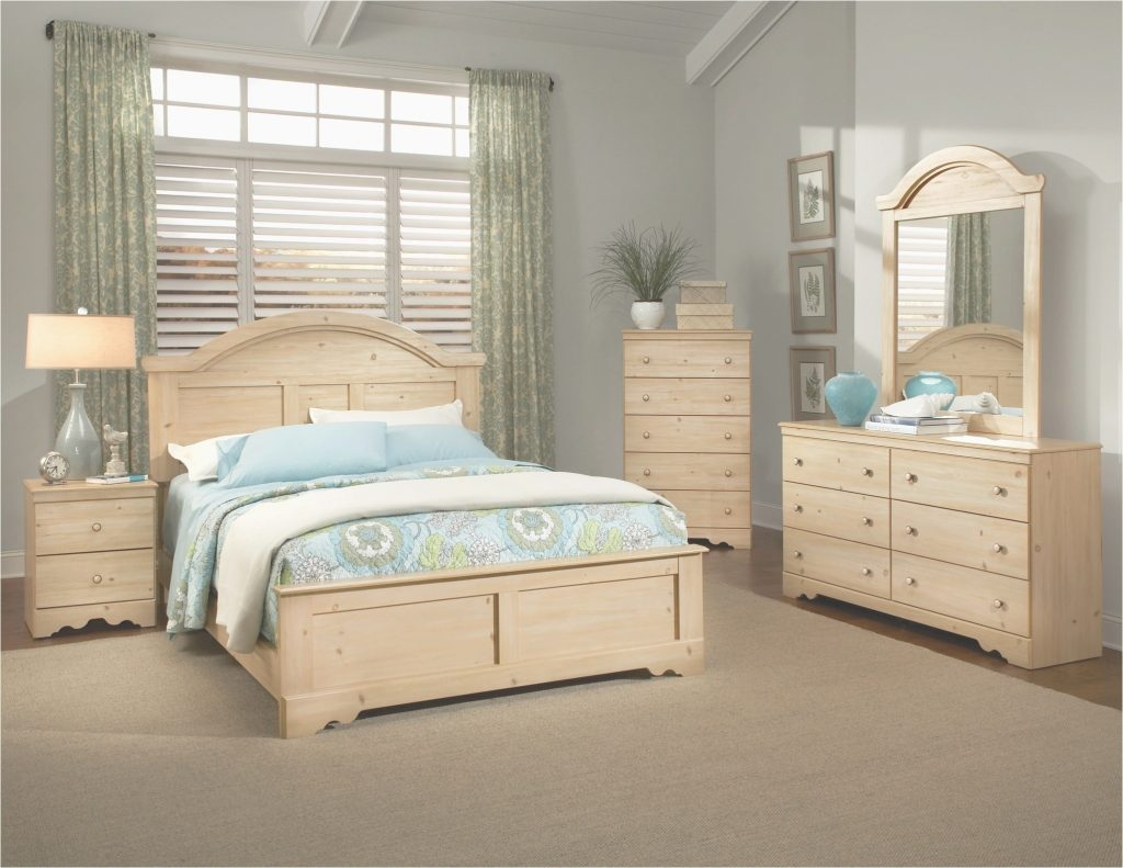 Light Wood Bedroom Set Simple Art Design